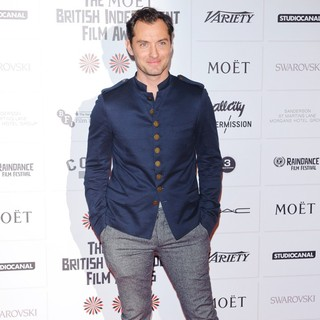 Jude Law in British Independent Film Awards 2012 - Arrivals - jude-law-british-independent-film-awards-2012-03