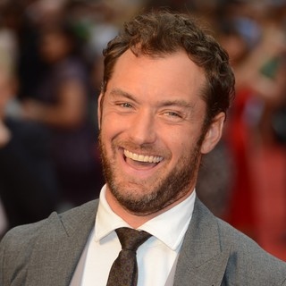 Jude Law in The Premiere of Anna Karenina