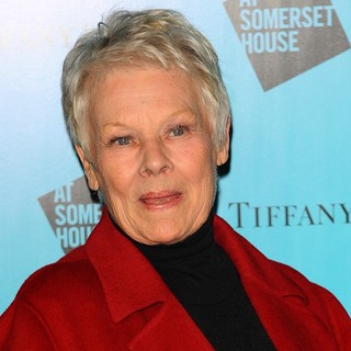 Judi Dench in Tiffany and Co Presents The Winter Party Celebrating The Opening of Somerset House's Ice Rink