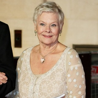 Judi Dench in Orange British Academy Film Awards 2012 Afterparty - Outside Arrivals