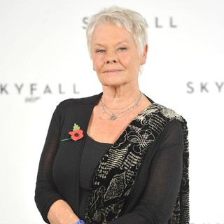 Judi Dench in The 23rd James Bond Movie Photocall