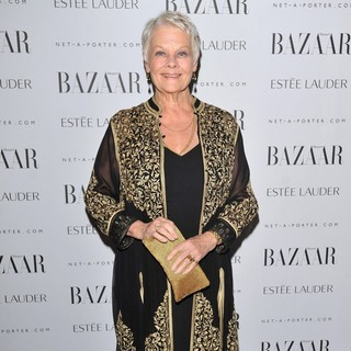 Judi Dench in Harper's Bazaar's Women of The Year Awards