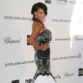 Judi Shekoni in 21st Annual Elton John AIDS Foundation's Oscar Viewing Party