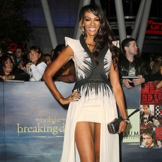 Judi Shekoni in The Premiere of The Twilight Saga's Breaking Dawn Part II