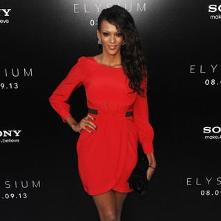 Judi Shekoni in World Premiere of TriStar Pictures' Elysium