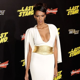 Judi Shekoni in The World Premiere of The Last Stand