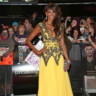 Judi Shekoni in The Premiere of The Twilight Saga's Breaking Dawn Part II - Arrivals