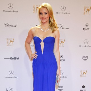 Judith Rakers in Bambi 2011 Awards - Red Carpet Arrivals