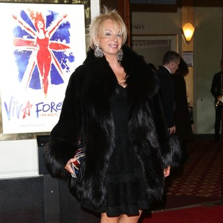 Judy Craymer in VIVA Forever Spice Girls The Musical - Arrivals