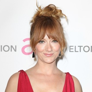 Judy Greer in 21st Annual Elton John AIDS Foundation's Oscar Viewing Party