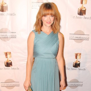 Judy Greer in The 39th Annual Annie Awards
