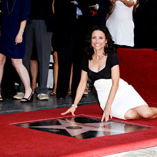 Julia Louis-Dreyfus in Julia Louis-Dreyfus is honored with a star on the 'Hollywood Walk of Fame'
