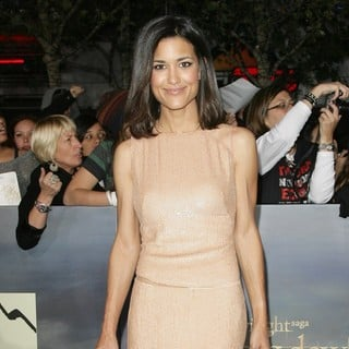 Julia Jones in The Premiere of The Twilight Saga's Breaking Dawn Part II