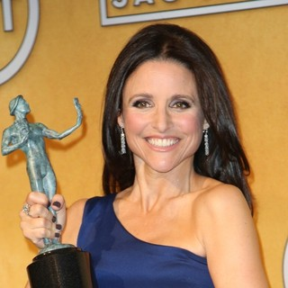 Julia Louis-Dreyfus in The 20th Annual Screen Actors Guild Awards - Press Room