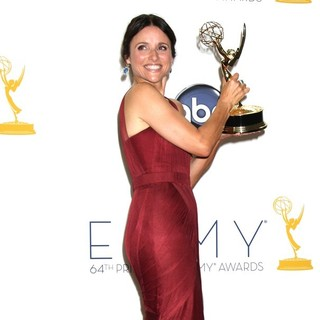 Julia Louis-Dreyfus in 64th Annual Primetime Emmy Awards - Press Room
