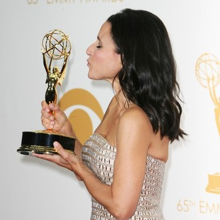 Julia Louis-Dreyfus in 65th Annual Primetime Emmy Awards - Press Room