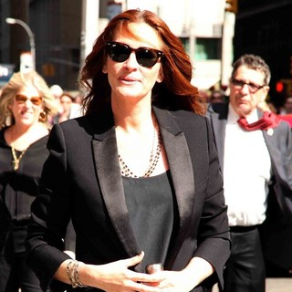 Julia Roberts - Julia Roberts for The Late Show with David Letterman