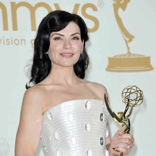 Julianna Margulies in The 63rd Primetime Emmy Awards - Press Room