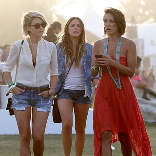 Julianne Hough in The 2013 Coachella Valley Music and Arts Festival - Week 1 Day 3
