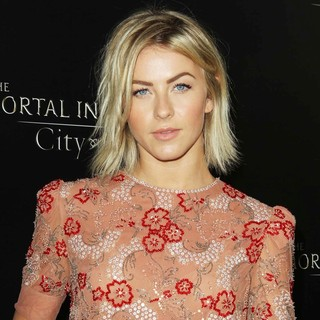 Julianne Hough in Premiere of Screen Gems and Constantin Films' The Mortal Instruments: City of Bones