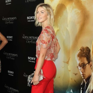 Julianne Hough - Premiere of Screen Gems and Constantin Films' The Mortal Instruments: City of Bones