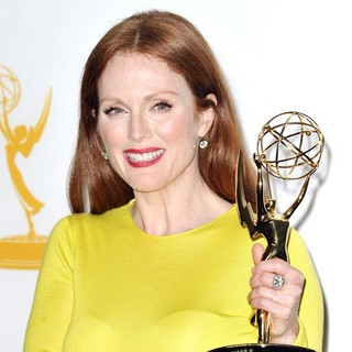 Julianne Moore in 64th Annual Primetime Emmy Awards - Press Room