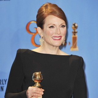 Julianne Moore in 70th Annual Golden Globe Awards - Press Room