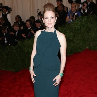 Julianne Moore in PUNK: Chaos to Couture Costume Institute Gala