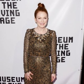 Museum of The Moving Image Honors Julianne Moore - Red Carpet Arrivals