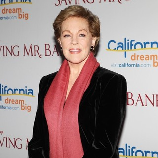 Julie Andrews in Saving Mr. Banks Los Angeles Premiere
