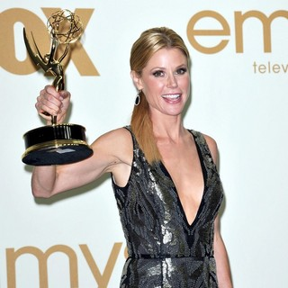 Julie Bowen in The 63rd Primetime Emmy Awards - Press Room