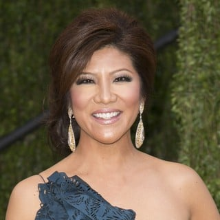 Julie Chen in 2013 Vanity Fair Oscar Party - Arrivals
