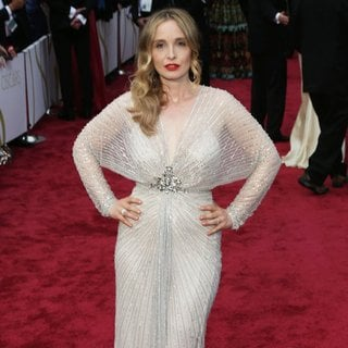 Julie Delpy in The 86th Annual Oscars - Red Carpet Arrivals