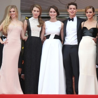 Emma Watson in 66th Cannes Film Festival - The Bling Ring - Premiere - julien-farmiga-chang-broussard-watson-coppola-66th-cannes-film-festival-02