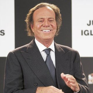 Julio Iglesias in Julio Iglesias Receives His Award for Most Sold Records in Spain