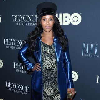 June Ambrose in Beyonce: Life Is But a Dream New York Premiere
