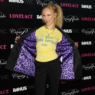 Juno Temple in Lovelace Los Angeles Premiere