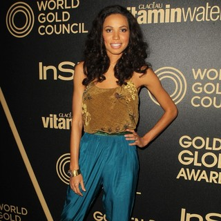 Jurnee Smollett in Miss Golden Globe 2013 Party Hosted by The HFPA and InStyle