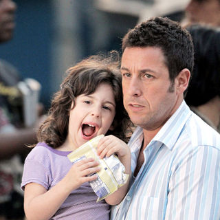 Adam Sandler - Filming new movie 'Just Go with It'