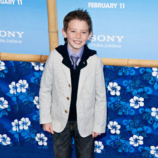 Griffin Gluck in Premiere of 'Just Go with It' - Arrivals