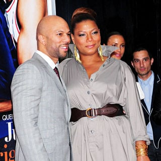 Common, Queen Latifah in The Premiere of 'Just Wright'