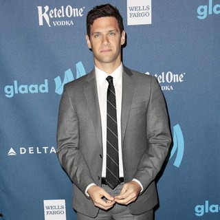 Justin Bartha in 24th Annual GLAAD Media Awards - Arrivals