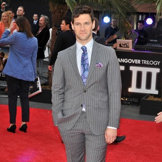 Justin Bartha in The Hangover Part III - European Film Premiere