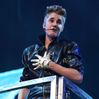 Justin Bieber in Justin Bieber Performing Live at The Grand Garden Arena