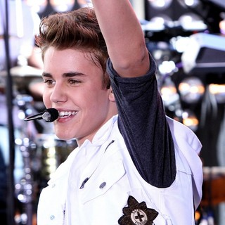 Justin Bieber in Justin Bieber Performs Live as Part of The Today' Show's Concert Series