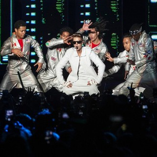 Justin Bieber in Justin Bieber Performs Live during The Brazilian Leg of His Believe Tour