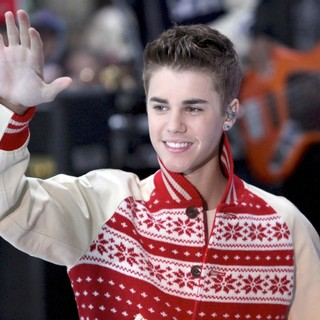 Justin Bieber in Justin Bieber Performs on Today as Part of The Toyota Concert Series