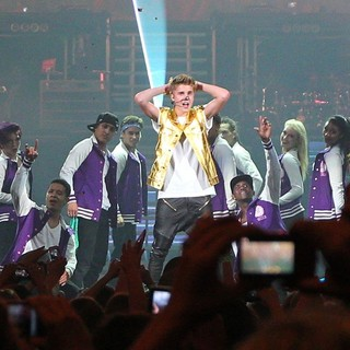 Justin Bieber in Justin Bieber Kicks Off The Start of His Believe Tour