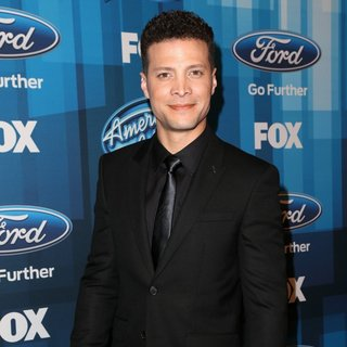 Justin Guarini in American Idol Finale for The Farewell Season - Red Carpet Arrivals
