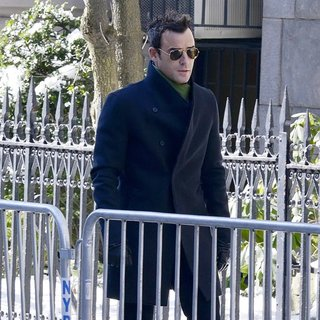 Justin Theroux in The Funeral of Philip Seymour Hoffman